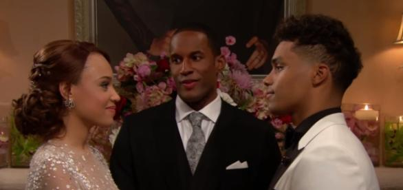 Zende and Nicole Bold and Beautiful - Image Credit: YouTube/CBS