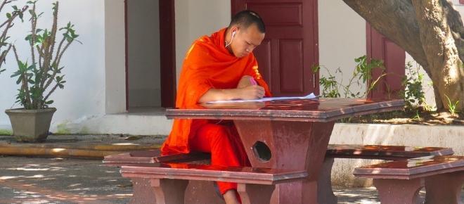 Ser aprendiz de monje para tener una educación