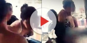 Estupro aconteceu no Marrocos, dentro do transporte coletivo, na frente de outros passageiros (Foto: Captura de vídeo)