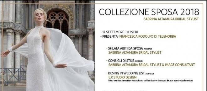 Collezione 2018 di abiti da sposa, a Trani un evento per tutte le coppie