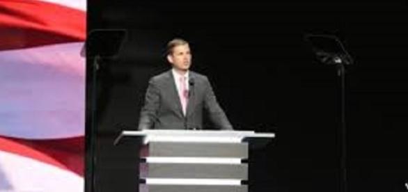 Eric Trump/WikiMediaCommons/https://commons.wikimedia.org/wiki/File:Eric_Trump_2016_RNC.jpg