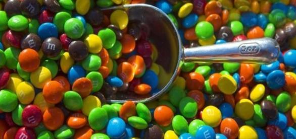 Gli M&M's, uno dei prodotti risultati contenenti nanoparticelle