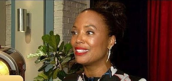 "Aisha Tyler leaves ""The Talk"" [Image: Entertainment Tonight/YouTube screenshot]"