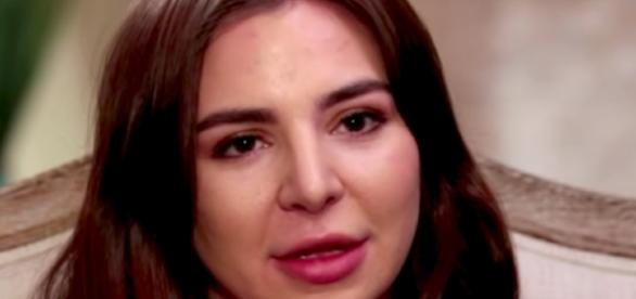 """Anfisa from """"90 Day Fiance""""--Image via YouTube/TLC"""