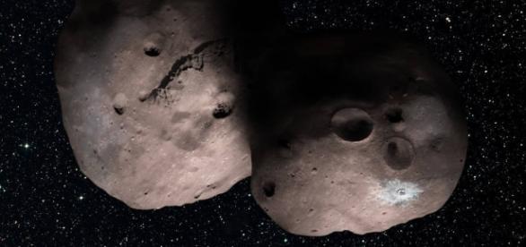 Artist conception of 2014 MU69 (NASA)