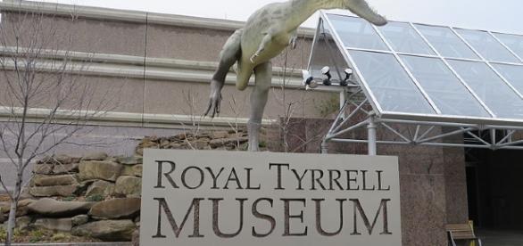 Dinosaur photo on Royal Tyrrell Museum |Carolyn Miaral | Wikimedia