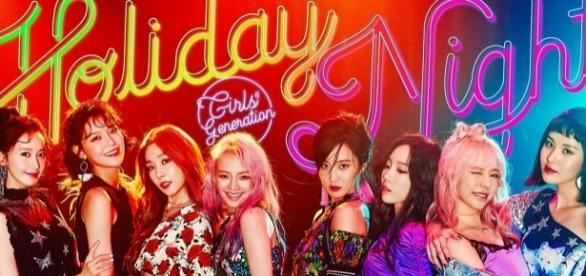 Girls' Generation 'Holiday Night' promo teaser (via Twitter - Girls' Generation)