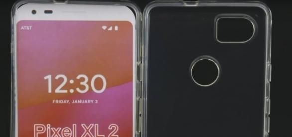 Latest Pixel 2 renderings reveal changes to headphone jack | Screenshot via YouTube