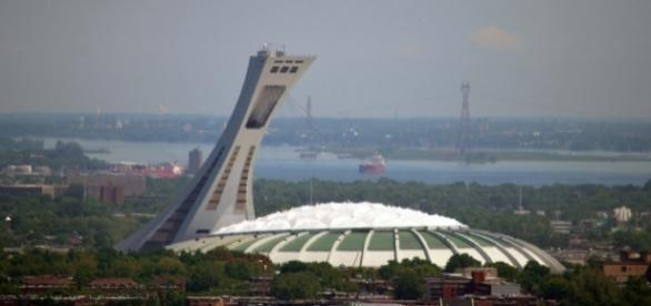 Montreal Olympic Stadium Stadium built in Montreal for the 1976 Summer Olympic Games by Nick Redhead via Flickr