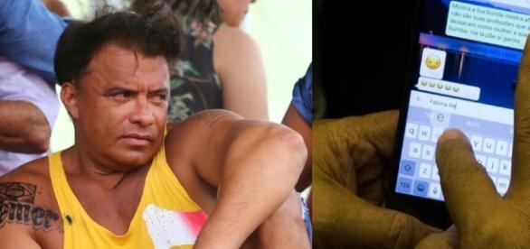 Wladimir Costa tatuou nome de Temer e pediu ''nudes''