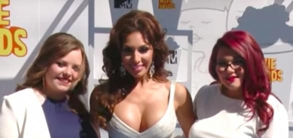Farrah Abraham and the other Teen Mom OG women--Image via YouTube/Hollywood Life