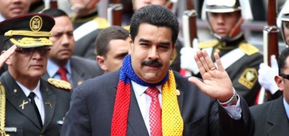Inauguration day of Maduro's presidency. Photo: Luis Astudillo C. / Andes via Flickr