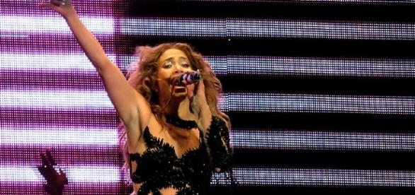 Jennifer Lopez in one of her concerts / Photo via Ana Carolina Kley Vita, Wikimedia Commons