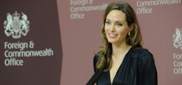 Angelina Jolie in an undated photo - Flickr/Foreign and Commonwealth Office