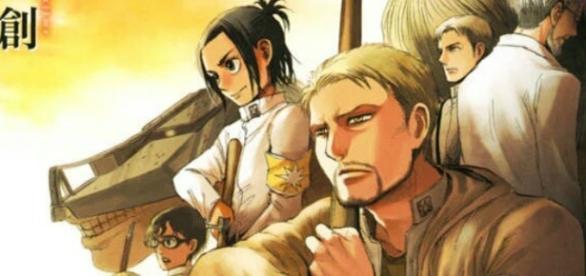 Attack on Titan vol. 23 cover. [Image credit: Bessatsu Shonen Magazine]