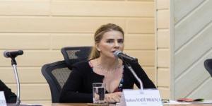 Maitê Proença esteve presente no 1º dia da 'Semana da Justiça' no Rio