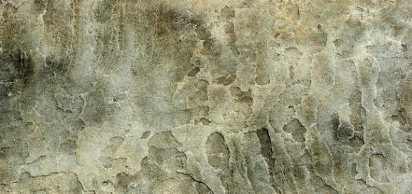 Dirty Stone Slab | Closeup of gungy stone slab with dark sta… | Flickr - flickr.com