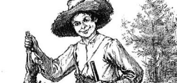 Huckleberry Finn (public domain wikimedia)