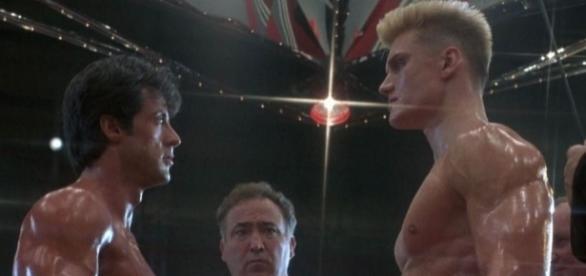 'Io ti spiezzo in due ...', la famosa sequenza tratta da 'Rocky IV'