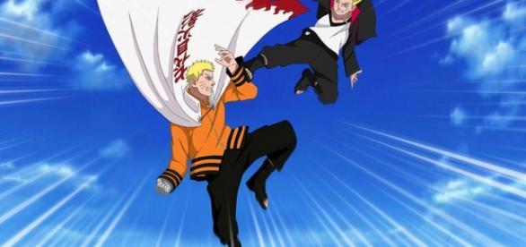 Narito and Boruto spends some time together at the Ichiraku Ramen House. - Naruto Shippuden: ナルト- 疾風伝 AnimeMedia™/YouTube Screenshot