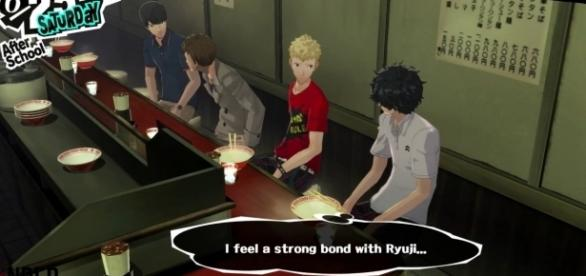 The 'Persona 5' Confidant system is an improved version of Social Links. (image source: YouTube/underbuffed)