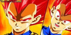 Vegeta's official transformation as the Super Saiyan God - Unreal Gaming via YouTube