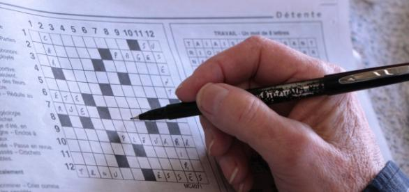 Crosswords have traditionally been the most popular way for keeping brain active. Credit:Suzie Hudon via http://www.publicdomainpictures.net