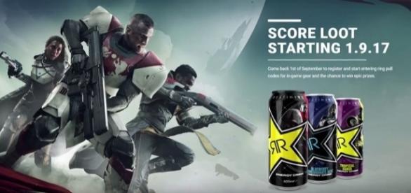 Destiny 2 Rockstar Energy Drink (BlastBrandon/YouTube Screenshot)