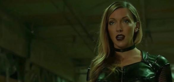 Katie Cassidy as Black Siren for 'Arrow'/Photo via screencap, 'Arrow'/The CW