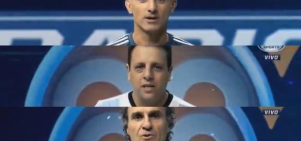 Los periodistas se calzaron la camiseta de la selección argentina y jugaron el partido del año.