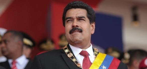 President Nicolas Maduro by Hugoshi via Wikimedia Commons