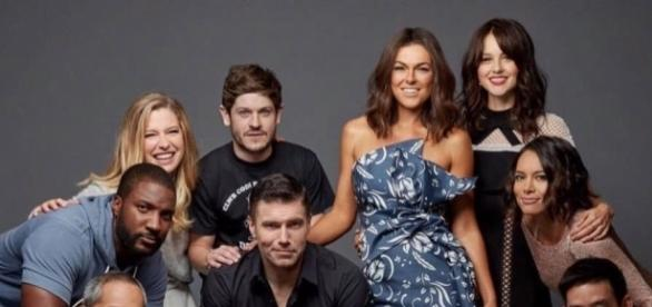 """Some of the cast members of Marvel's 'Inhumans,"""" which airs on ABC in September. ~ Facebook/Inhumans"""