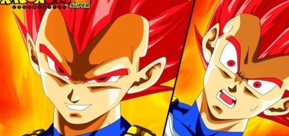 Vegeta's official transformation as the Super Saiyan God - Unreal Gaming via YouTube