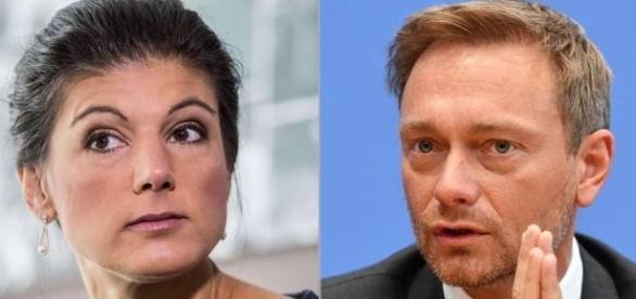Wagenknecht applaudiert Lindner für dessen Russland-Vorstoß   Politik - merkur.de