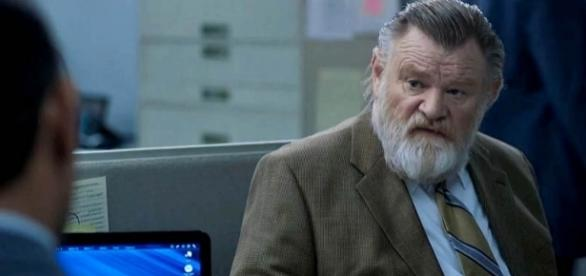 "Brendan Gleeson as retired detective Bill Hodges in ""Mr. Mercedes"" [Image: YouTube/JoBlo TV Show Trailers]"