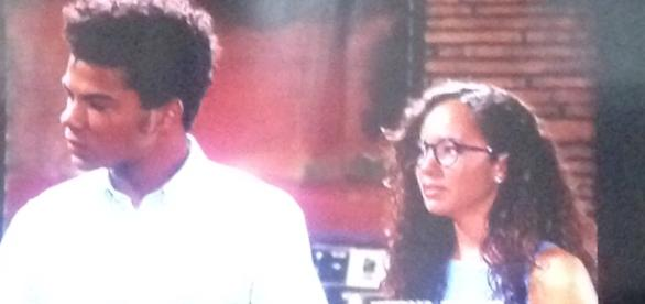Charlie and Mattie. The Young and the Restless. Screen shot.