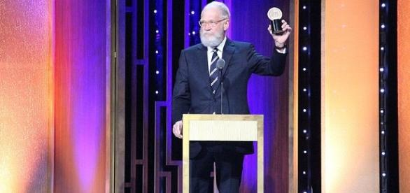 David Letterman during an event. [Image via Peabody Awards/Wikimedia Commons]