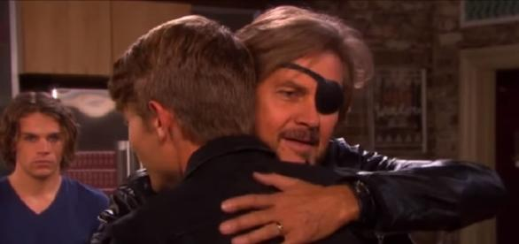 Days of our Lives Steve, Tripp, and Joey. (Image via YouTube screengrab)