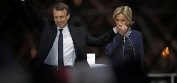 Emmanuel and Brigitte Macron, the French President and First Lady are facing controversies early in their reign. - reuters.com