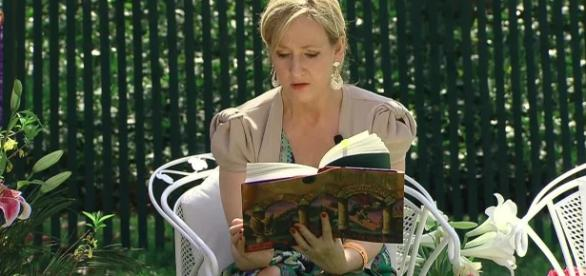 J.K. Rowling is making considerable amounts of money with her books (Image: White House)