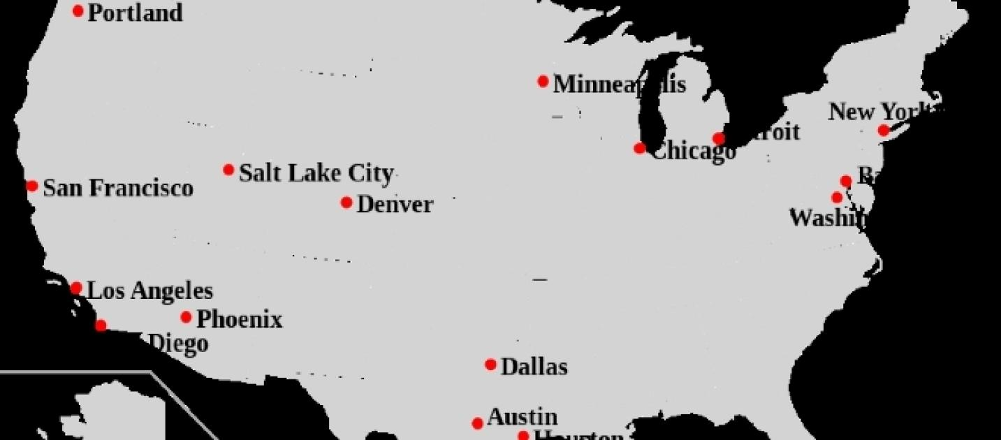 Are Sanctuary Cities A Good Idea - Map of sanctuary cities in us
