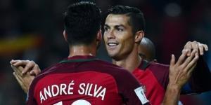 André Silva e Cristiano Ronaldo estiveram em destaque no jogo da primeira volta frente à Hungria