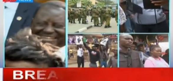 Uhuru Kenyatta's lawyers react to the final Supreme Court ruling- Image - KTN News| YouTube