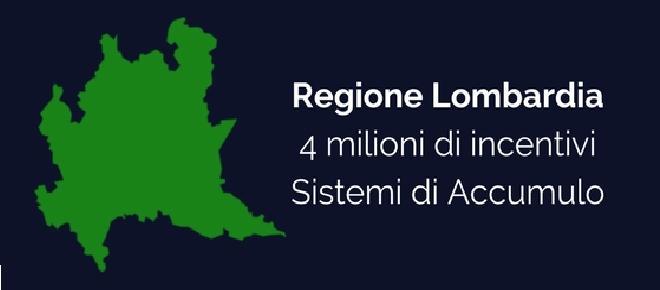 Regione Lombardia: bando accumulo 2017 per Impianti Fotovoltaici
