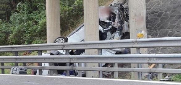 Accident Cinci români, între care doi copii, au murit lângă Viena