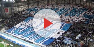 OM-Nice : les tifos de l'Orange Vélodrome