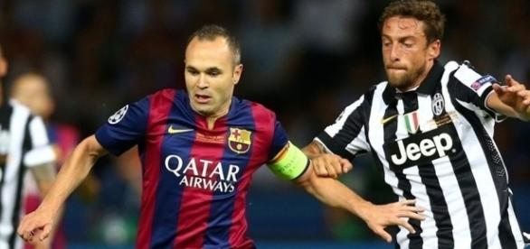 Barcelona e Juventus se enfrentaram no ano passado