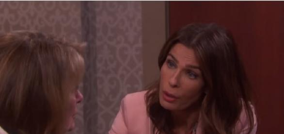 'Days of our Lives' Hope and Hattie. (Image via YouTube screengrab/NBC)