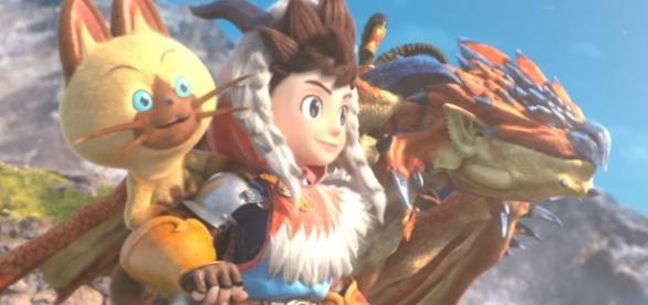 Monster Hunter Stories is out now for the 3DS. Credits to: Youtube/Nintendo