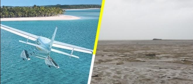 El mar de de las Bahamas desaparece